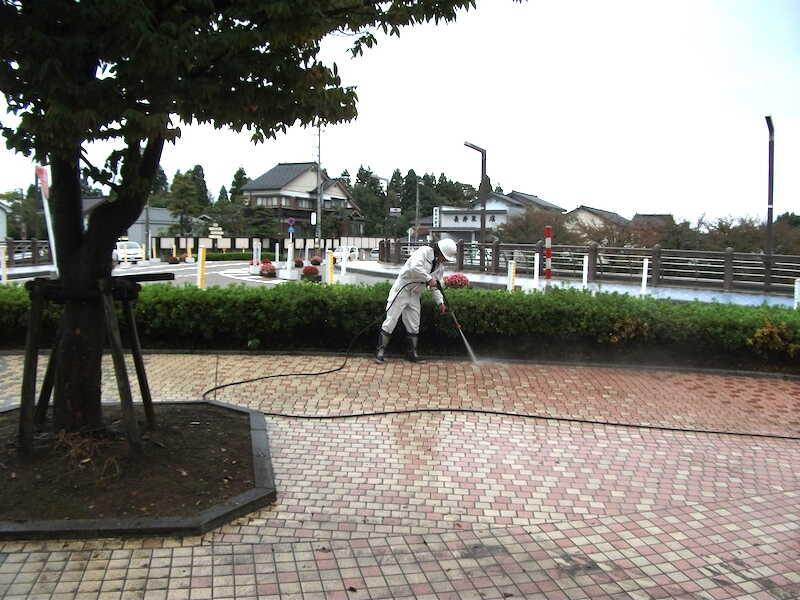 富山市舗道の滑り止め
